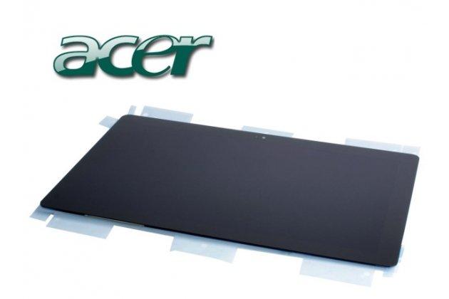 Фирменный LCD-ЖК-сенсорный дисплей-экран-стекло с тачскрином на планшет Acer Aspire P3-171 черный и инструменты для вскрытия + гарантия