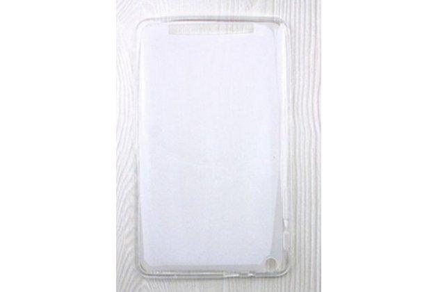 Фирменная ультра-тонкая полимерная из мягкого качественного силикона задняя панель-чехол-накладка для планшета Acer Iconia One 8 B1-820 / B1-830 белая