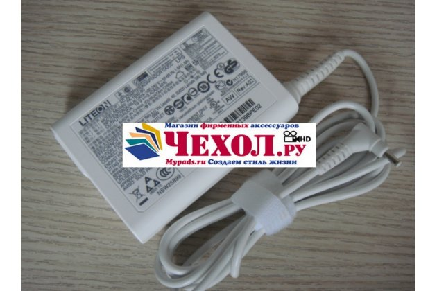 Фирменное оригинальное зарядное устройство от сети/ блок питания для планшета Acer Aspire Switch 12 (SW5-271-6571) 19V 3.42A 65W + гарантия