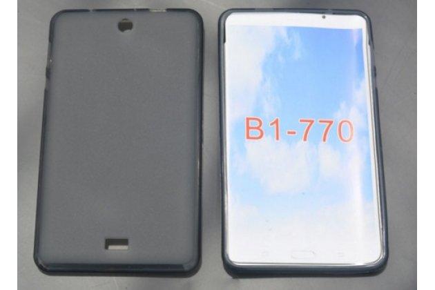 Фирменная ультра-тонкая полимерная из мягкого качественного силикона задняя панель-чехол-накладка для Acer Iconia One 7 B1-770-K75V 16Gb, NT.LBKEE.002 черная