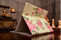 """Фирменный чехол для Apple iPad 2/3/4 """"тематика Розы"""""""
