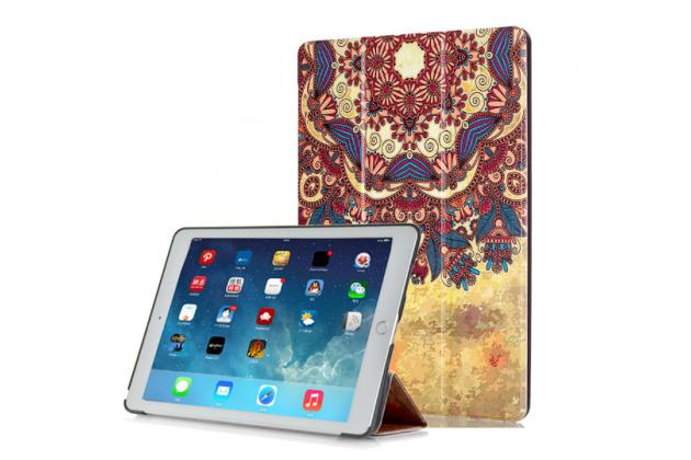 """Фирменный необычный чехол для iPad Pro 9.7"""" """"тематика Эклектические узоры"""""""