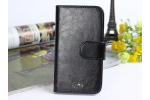 Фирменный чехол-книжка из качественной импортной кожи с подставкой застёжкой и визитницей для ASUS ZenFone AR ZS571KL черный