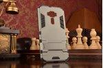 """Противоударный усиленный ударопрочный фирменный чехол-бампер-пенал для ASUS ZenFone 3 / Zenfone 3 Neo ZE520KL 5.2"""" серый"""
