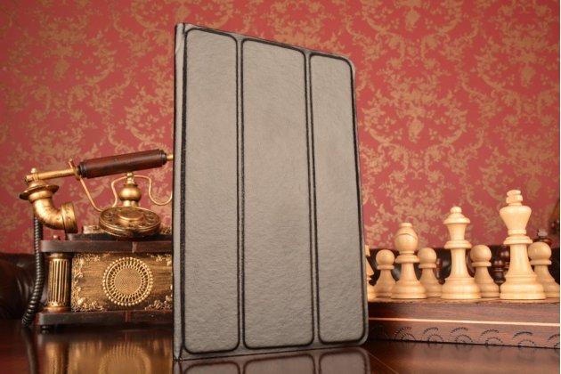Чехол с вырезом под камеру для планшета Acer A6201  с дизайном Smart Cover ультратонкий и лёгкий. цвет в ассортименте