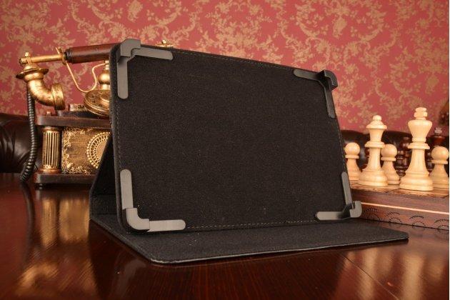 Чехол-обложка для планшета Acer A6201 с регулируемой подставкой и креплением на уголки