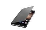 """Фирменный оригинальный подлинный чехол с логотипом для Huawei Mate 9 Pro 5.5"""" (LON-L29) Smart Wake черный"""