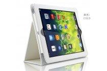 Фирменный чехол-обложка с подставкой для Acer Iconia One B3-A20 (NT.LBYEE.004) белый кожаный