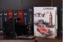 """Чехол для iPad 2/3/4 """"тематика я люблю Лондон"""" №3"""