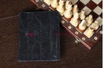 Чехол-обложка для iPad 2/3/4 из высококачественной итальянской натуральной кожи класса премиум черный